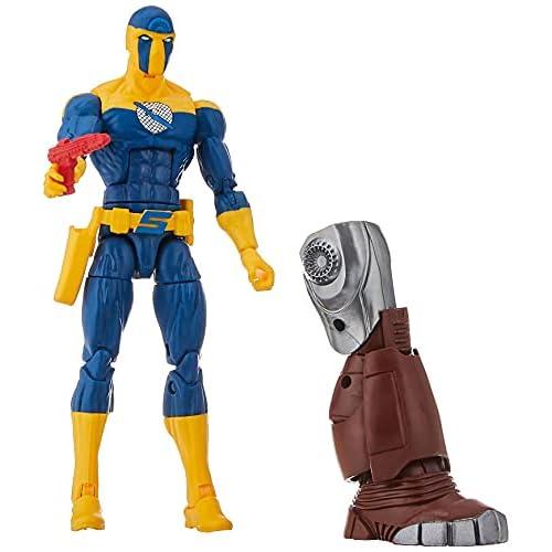 Hasbro Marvel Legends Series - Spymaster (Action Figure 15cm da Collezione, Build-A-Figure Crimson Dynamo, Ispirata al Film Black Widow)
