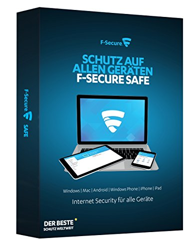 F-Secure SAFE Internet Security 2016 - 1 Jahr / 3 Geräte