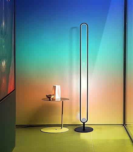 Ydshyth Stehlampe 20w Led RGB Stehleuchte Mit Farbwechsel Fernbedienung, Nordic Style Innenleuchte Für Wohnzimmer Schlafzimmer Spielzimmer