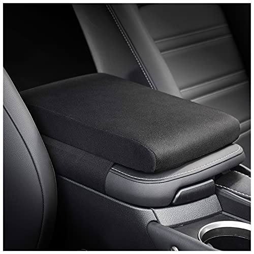 Timorn Car Center Console Cover: Memory Foam Armrest Cushion & Arm Rest Protector & Middle Organizer Black Elbow Pillow & Seat Central Box Lid Pad & Universal Interior Accessory for Truck   Auto   SUV