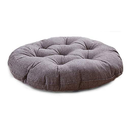 N / C Cojín redondo, cojín de asiento, sin formaldehído, sin olor, cómodo y duradero, adecuado para el hogar, oficina, hotel