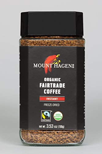 Mount Hagen, Coffee Instant Organic, 3.53 Ounce