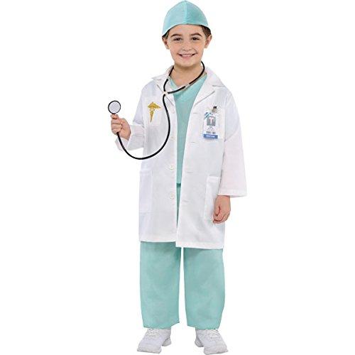 Christys Dress Up 999659/999660 - Disfraz Infantil de médico, 4 a 6 años