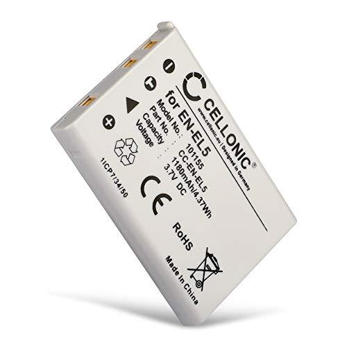 CELLONIC Batería Premium Compatible con Nikon CoolPix P510 P520 P530 P500 P100 P90 P80...