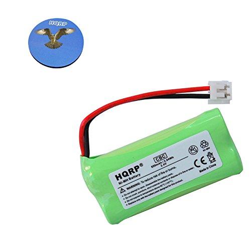 HQRP Phone Battery Compatible with Uniden BT-1011 / BT1011, DECT3080 / DECT 3080 Series, DCX300 / DCX 300 Series Cordless Telephone Plus Coaster