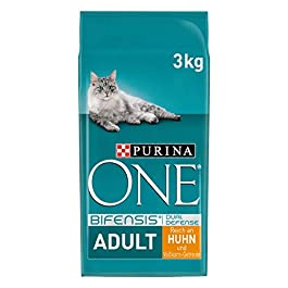 ONE Purina BIFENSIS adult dry cat food: rich in chicken, strengthens natural defences, for healthy bones, skin, teeth and urinary tract I from 1 year