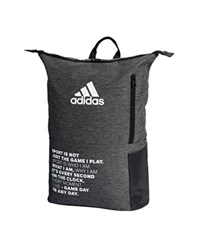Adidas Padel Mochila Adidas Padel MultiGame Gris 2020, Adultos Unisex, Grey, Talla única