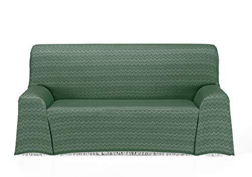Cardenal Textil Regina Foulard Multiusos, Verde, 180x290 cm