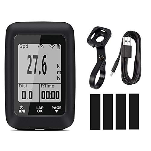 Amusingtao - Cuentakilómetros de bicicleta (2 pulgadas, retroiluminado, con función de calorías,...
