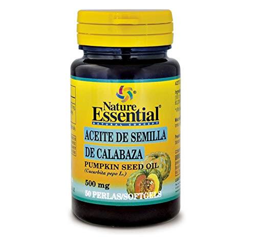 Aceite de semilla de calabaza 500 mg. 50 perlas.