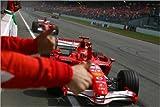Poster 150 x 100 cm: Michael Schumacher und Felipe Massa,