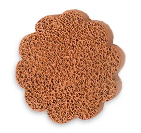 Gilden Tree 2-Sided Cheap mail order specialty store Flower Shaped Terra-Cotta Foot Scrubber Max 60% OFF Set