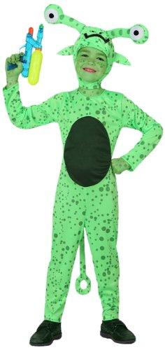 Atosa-16088 Disfraz Alien, color verde, 7 a 9 años (16088)