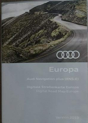 Audi Navi DVD Plus Europa Version 2019 (RNS-E) 8P0060884DD