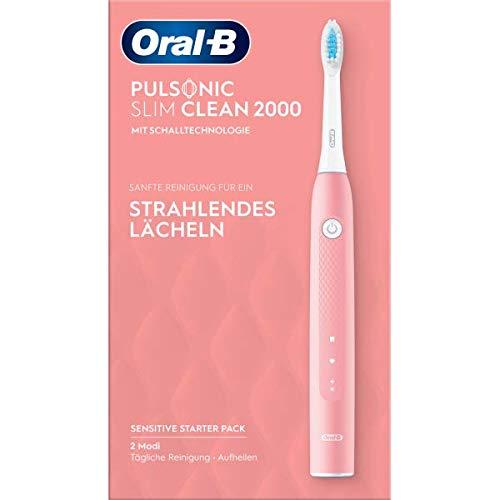 Oral-B Pulsonic Slim Clean 2000 - Cepillo de dientes eléctrico sónico (2...