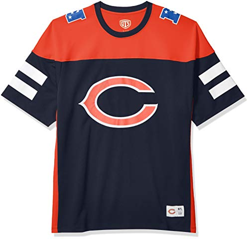 OTS NFL Chicago Bears Men's Alton Jersey, Team Color, XX-Large