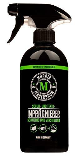 Morris Fenderbaum Schuh und Textil Imprägnierspray - Outdoor, Regenschutz - Stoff-Versiegelung - Leder- & Schuhpflege - Imprägnierspray - Sprühflasche, 1 x 500 ml