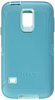 Rugged Protection Otterbox Defender Series Case for Samsung Galaxy S5 - Bulk Packaging -  Aqua Blue/Light Teal