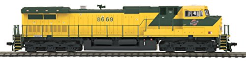 MTH MTH8022941 HO Dash-9 w/PS3, C&NW #8669
