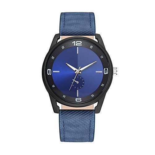 Relojes Para Mujer Mira las mujeres Relojes masculinos de la escala de sombras de tres colores y la correa femenina de la correa de los PVC de las señoras reloj de pulsera Relojes Decorativos Casuales