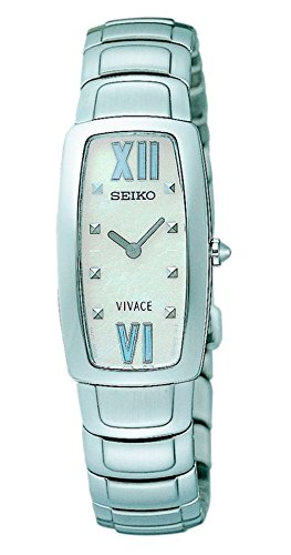 SEIKO dameshorloge, analoog, kwarts, met armband van roestvrij staal SUJ783