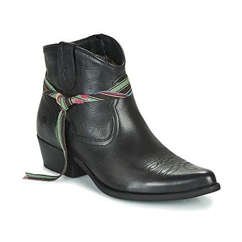 Felmini Lavana Stiefelletten/Boots Damen Schwarz - 39 - Boots Shoes