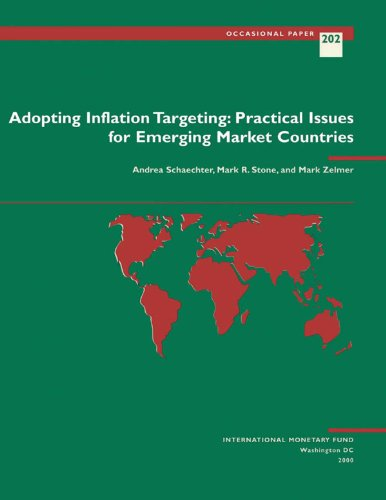 Adopting Inflation Targeting: Practical Issues for Emerging Market Countries (Occasional Paper (International Monetary Fund) Book 202) (English Edition)