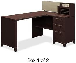 BSH2999MCA103 - Bush 60amp;quot; W x 47amp;quot; D Corner Desk Solution Box 1 of 2 Enterprise: Mocha Cherry