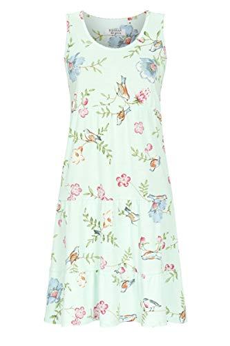 Ringella Lingerie Damen Nachthemd ohne Arm helle Lagune 42 1261019,helle Lagune, 42