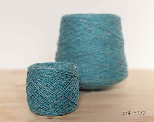 Knoll Double Soft Donegal Tweed, Merino Wool Turkis / 100% Merino Wolle Türkis (5272), 50g