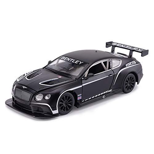 CDXZRZYH スケール1:32ベントレーコンチネンタルGT3合金サウンドライトシミュレーション車のおもちゃ、引き戻し車モデル、キッズギフト用おもちゃ
