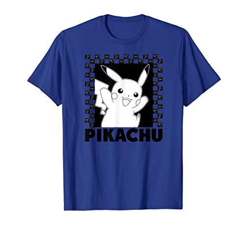 Pokémon Pikachu Checkers T-Shirt