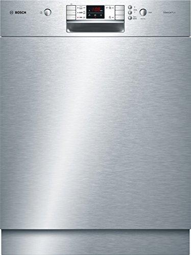 Bosch SMU50L15EU Serie 6 Silence Plus Unterbaugeschirrspüler / A+ / 12 Maßgedecke / 290 kWh/Jahr / Edelstahl / Kindersicherung / Variospeed