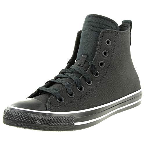 Converse CTAS HI Sneaker high Farbe: Black White Gr.47 EU