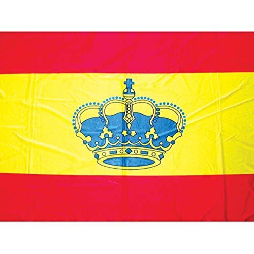 Bandera España con Corona 45 x 30 cm