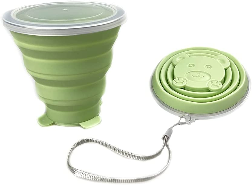 Collapsible Coffee We OFFer at cheap prices Cup Colorado Springs Mall Portabl Silicone HiweEco