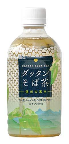 日穀製粉 PETダッタンそば茶 信州の恵み 350ml ×24本 デカフェ・ノンカフェイン
