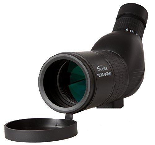 Dörr Danubia 538230 Zoom Spektiv Fuchs 12-30x50 (Gehäuse mit Gummiarmierung, 45 Grad Schrägeinblick) schwarz