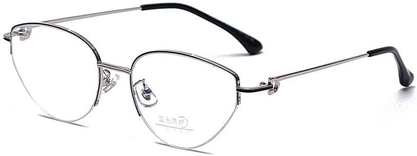 Max 73% OFF Courier shipping free shipping HUITAILANG Blue Light Blocking Glasses Tria Black Silver Vintage