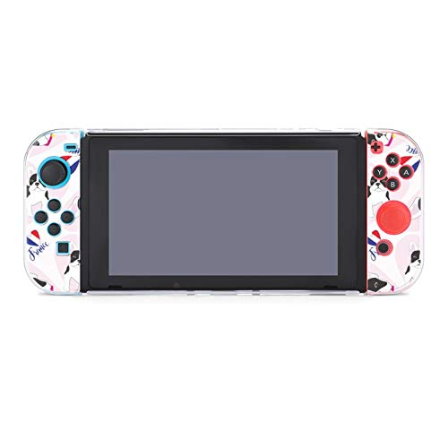 French Bulldogs, Hearts_wps图片Nintendo Switch Protective Case Cover Shock and Anti Scratch Protective Compatible Carry Case