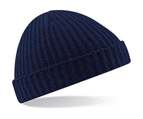 Beechfield Bonnet de marin BC460 - Bleu - Taille unique