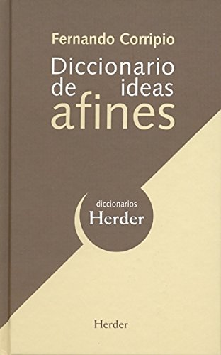 Diccionario de ideas afines (Diccionarios Herder
