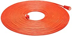 16-gauge, 3-prong, grounded cord for outdoor or indoor use Vinyl covering protects against moisture, abrasion, and direct sunlight Rating: 10 Amps, 1250 Watts, 125 VAC All copper wire construction 3-prong plug and single socket on ends