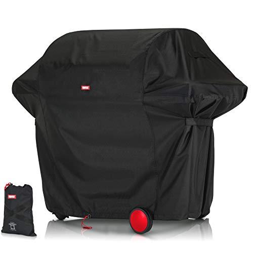BARTSTR Premium Grillabdeckhaube 155 x 65 x 115 - Höchste Qualität für Deinen Grill - Grillabdeckung der Extraklasse