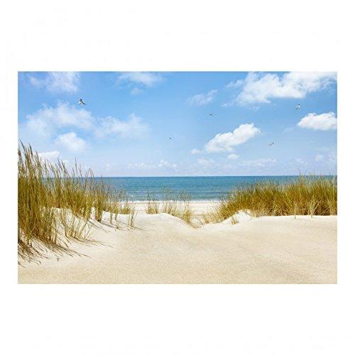 Bilderwelten Strand an der Nordsee Vliestapete, Größe: 255cm x 384cm