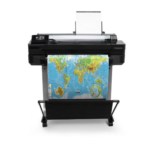 HP Designjet T520 ePrinter Series Großformatdrucker (61cm (24 Zoll), 2400x1200 dpi, 1GB RAM, WiFi, USB 2.0) schwarz