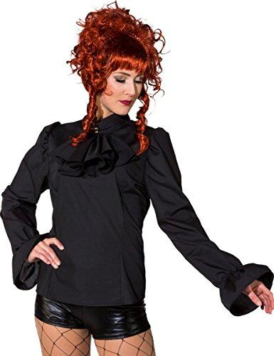 Orlob Damen Kostüm Biedermeier Bluse Steampunk Karneval Fasching Gr.42