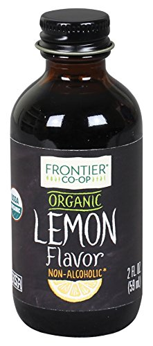 Frontier Co-op Lemon Flavor Organic, Non-Alcoholic, 2 ounce bottle