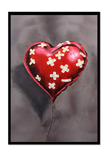 Bandaged Heart Balloon Art