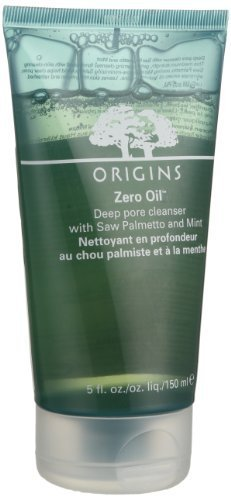 Origins Zero Oil Deep Pore Cleanser With Saw Palmetto And Mint - 150ml/5oz by Origins (English Manual)